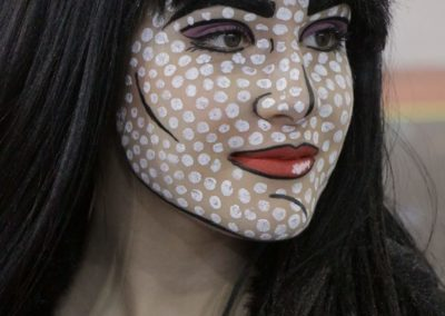 Pop-art  Make-up