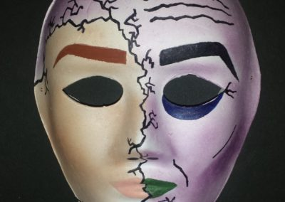 The Paint of Dorian Gray, Oscar Wilde Mask